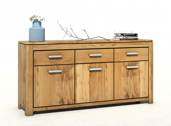 2626 4846 hannah sideboard staurum wildeiche massiv montiert aufgebaut. Black Bedroom Furniture Sets. Home Design Ideas