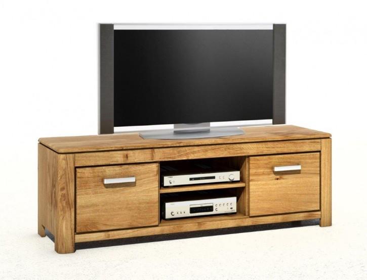 2627 4849 hannah tv lowboard wildeiche massiv montiert aufgebaut. Black Bedroom Furniture Sets. Home Design Ideas