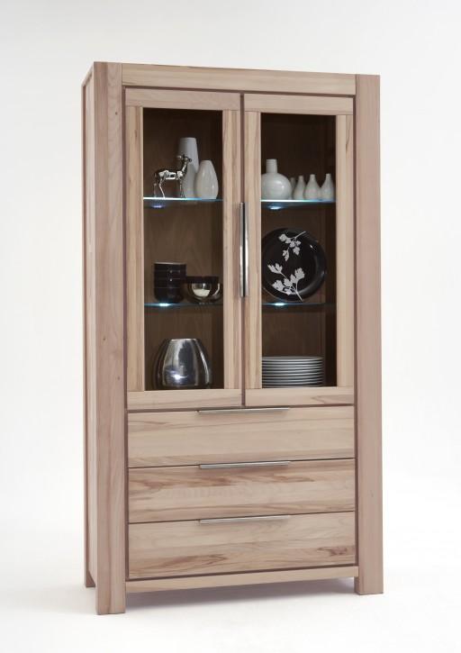 vitrine wildeiche sonoma s gerauh massivholz 2663 nena. Black Bedroom Furniture Sets. Home Design Ideas