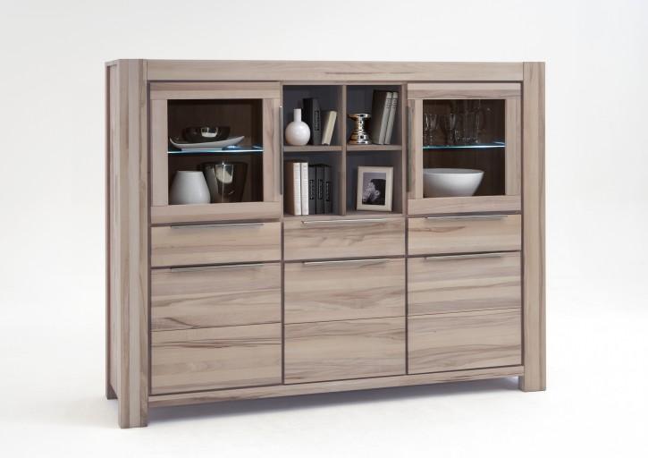 highboard wildeiche sonoma eiche s gerauh massivholz nena. Black Bedroom Furniture Sets. Home Design Ideas