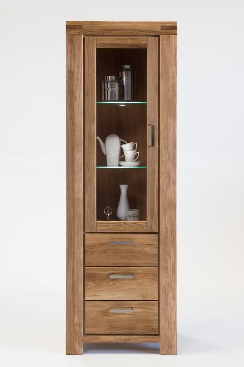 vitrine wildeiche massiv ge lt 4083 2861 elfo m bel kira. Black Bedroom Furniture Sets. Home Design Ideas