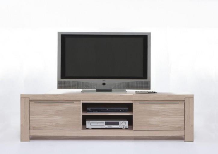 TV Lowboard XL Bornholm Wildeiche massiv sonoma