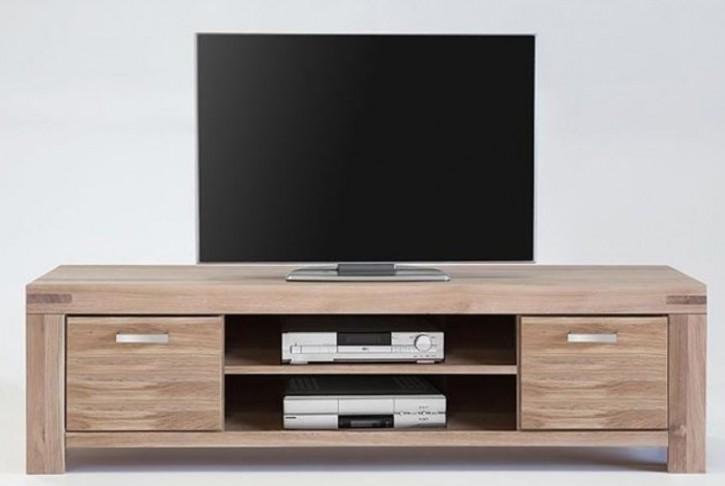 TV Lowboard Wildeiche sonoma massiv geölt Serie Kreta