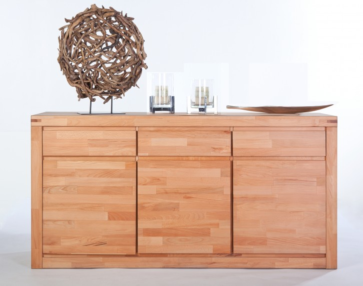 Sideboard XL Kernbuche massiv