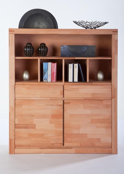 highboard kernbuche massiv ge lt sylt delft massivholz elfo m bel 6213. Black Bedroom Furniture Sets. Home Design Ideas