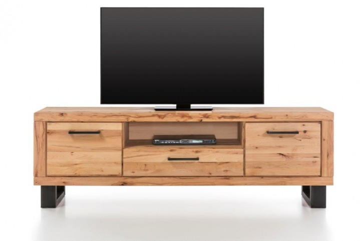 TV Lowboard XL Lyon Altbuche massiv geölt