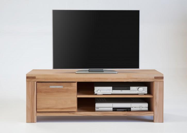 TV Lowboard Kernbuche massiv geölt Serie Kreta