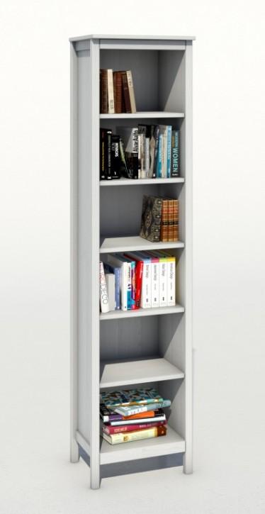 Bücherregal Kiefer weiß Serie Fehmarn