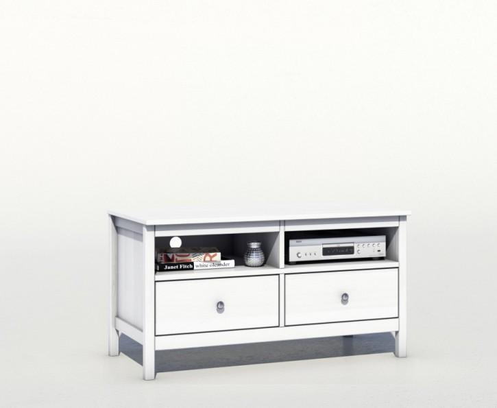tv lowboard kiefer massiv wei e019 e231 fehmarn feelings. Black Bedroom Furniture Sets. Home Design Ideas