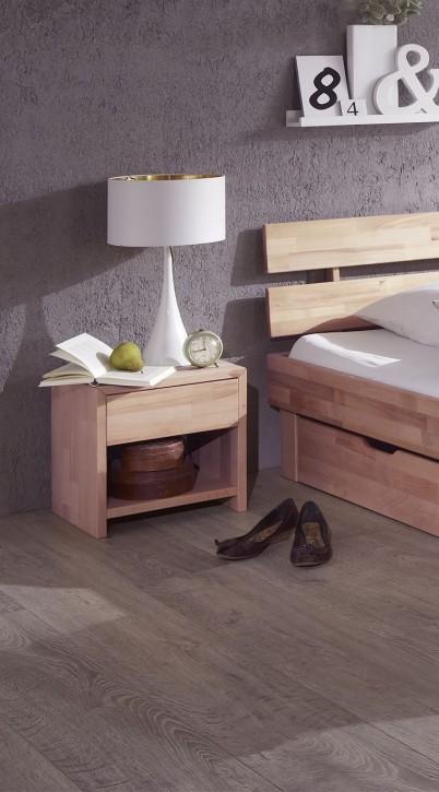 nachtschrank nachttisch aus massiver wildeiche sonoma na. Black Bedroom Furniture Sets. Home Design Ideas