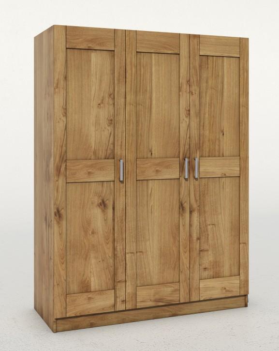 kleiderschrank toni tommy t rig wildeiche teilmassiv. Black Bedroom Furniture Sets. Home Design Ideas