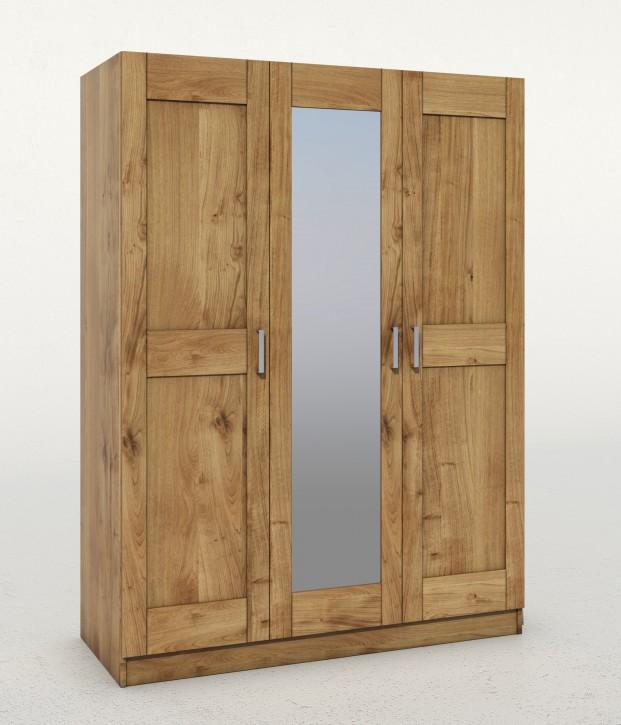 kleiderschrank toni tommy t rig spiegel wildeiche teilmassiv massivholz. Black Bedroom Furniture Sets. Home Design Ideas