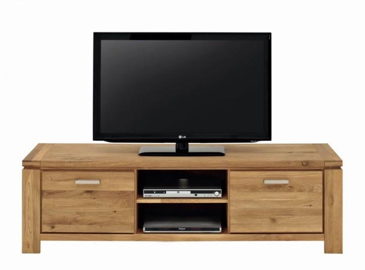 TV Lowboard XL Wildeiche massiv fertig montiert
