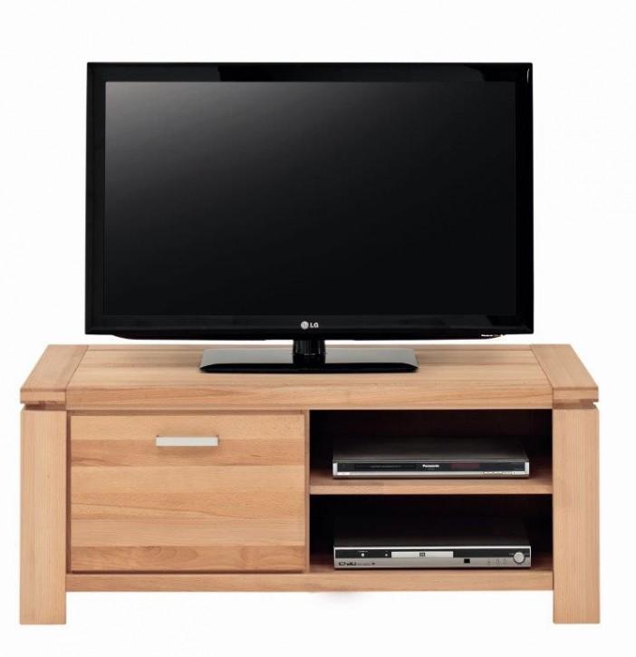 TV Lowboard L Wildeiche massiv fertig montiert