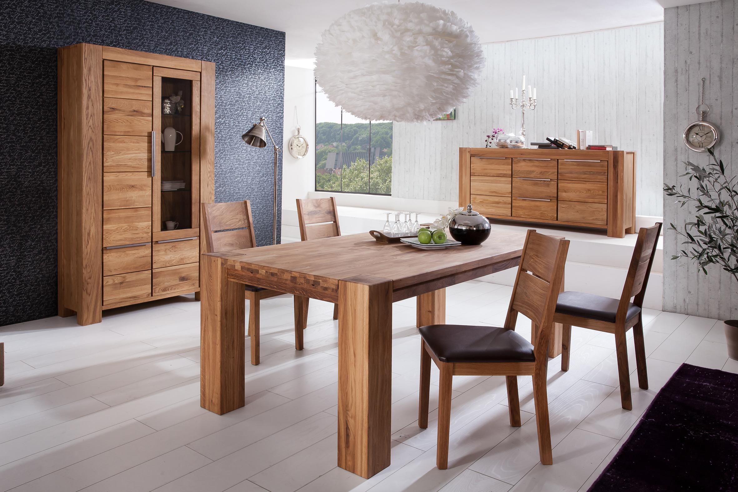 wildeiche massiv ge lt. Black Bedroom Furniture Sets. Home Design Ideas