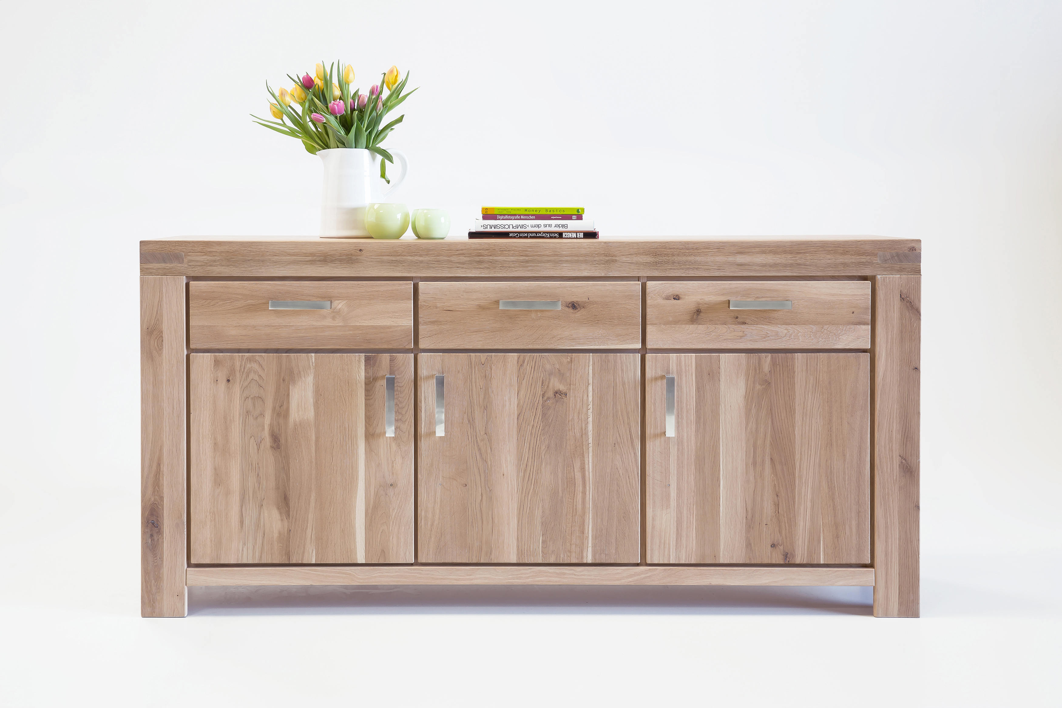 Sideboard 7088 5866 wildeiche sonoma massiv elfo m bel for Sideboard vollholz