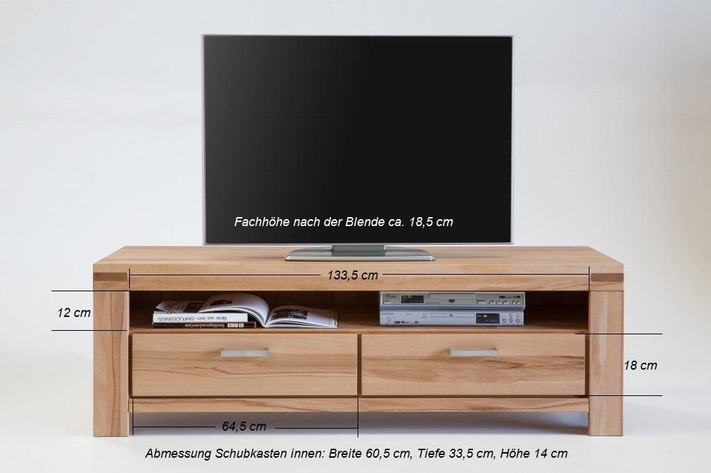 tv lowboard wildeiche sonoma massiv 7089 5867 elfo m bel. Black Bedroom Furniture Sets. Home Design Ideas