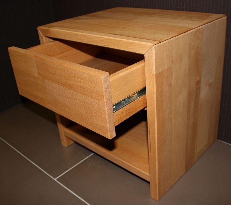 nachtschrank nachttisch aus massiver wildeiche sonoma na arg ge lt elfo massivholz neepal. Black Bedroom Furniture Sets. Home Design Ideas